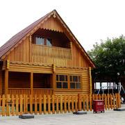 唯美的木屋别墅装修效果图
