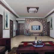 客厅水曲柳实木家具装修色调搭配