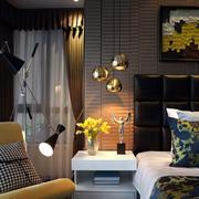 有格调的家庭卧室灯饰欣赏