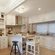 家装开放式厨房展示