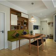 家庭餐厅卡座沙发设计