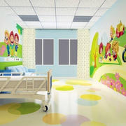 幼儿园壁画设计室内图