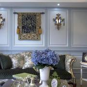 美式简约客厅灯饰装饰