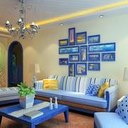 地中海风格简约射灯装饰