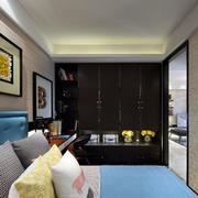 家庭小卧室装饰画图片