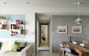 新潮时尚:北欧风格小公寓家装效果图