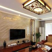 新中式风格电视背景墙