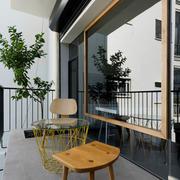120平米欧式精简系列阳台设计