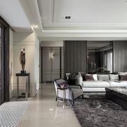 高贵家装客厅布置图