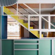 40平米白色小楼梯设计