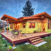 木屋别墅装修实景图