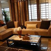 温馨大户型家庭沙发