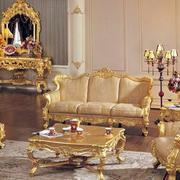 别墅奢华一体式家具设计