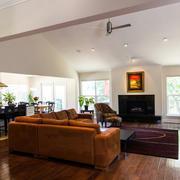 别墅客厅简约风格吊顶装饰