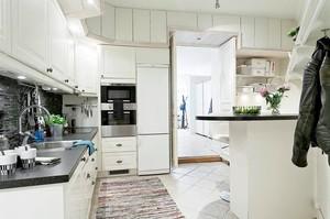 白色北欧厨房装饰