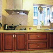 复古式田园厨房设计