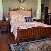 美式田园家具装修卧室图