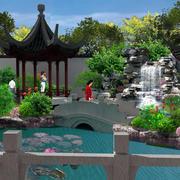 园林景观设计模板图