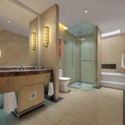温馨型卫生间设计