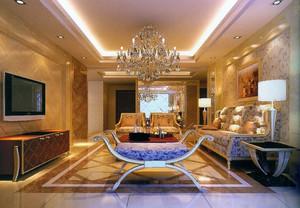 经典欧式小户型家装室内设计效果图