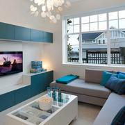 清新脱俗的别墅客厅设计