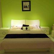 两室一厅全友家具卧室床饰设计