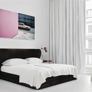 阁楼简约式女生卧室设计