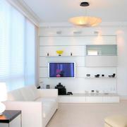 客厅白色背景设计