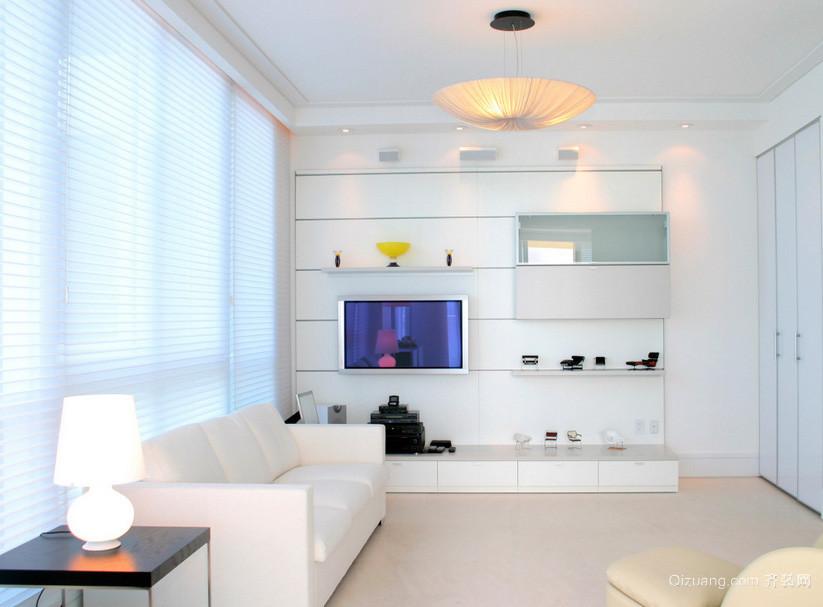 别墅纯净系列白色背景墙图片