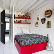 阁楼小户型女生卧室设计