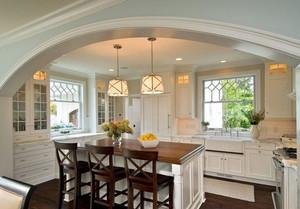 宜家风格厨房设计图片