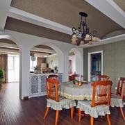 复古式田园客厅设计