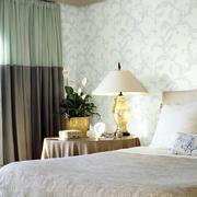 素雅的卧室墙纸