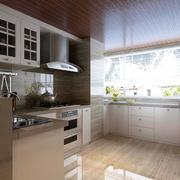北欧厨房窗户设计图片