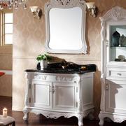 欧式田园风格浴室柜装饰