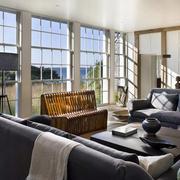 别墅阳光玻璃墙设计