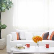 清新简约客厅设计图片
