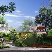 现代园林景观设计图