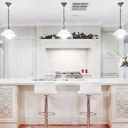 纯白色调厨房设计图片