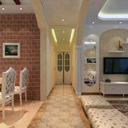 大户型田园客厅设计