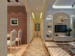 优雅迷人:38平米女生田园风格卧室装修图例