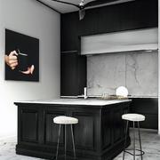 阁楼厨房吧台设计