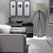 黑白对比式大气型阁楼设计