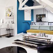 阁楼简约式餐桌椅设计