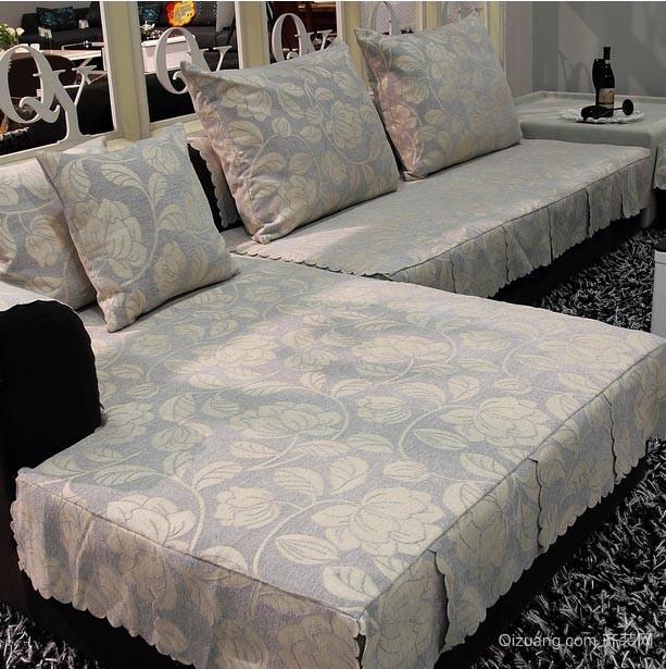 让家居大变样的客厅休闲沙发套效果图