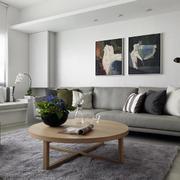 单身男士公寓北欧客厅