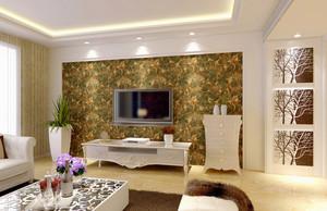 东南亚风格电视背景墙