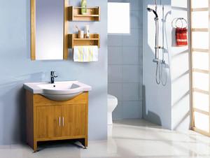 2015全新别墅卫生间浴室柜装修效果图