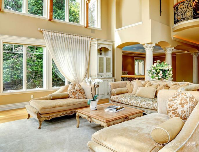完美奢华气质:欧式经典奢华客厅家具效果图