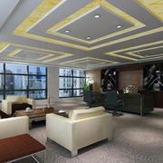 办公室装修设计吊顶图